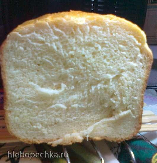 Brand 3801. Молочный хлеб на 1 (белый хлеб или основной)программе.
