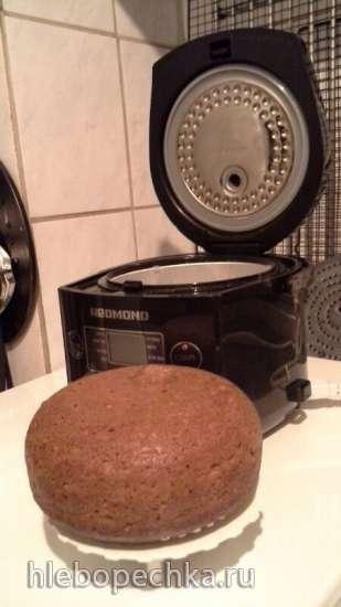 Горчично-молочный хлеб в хлебопечке