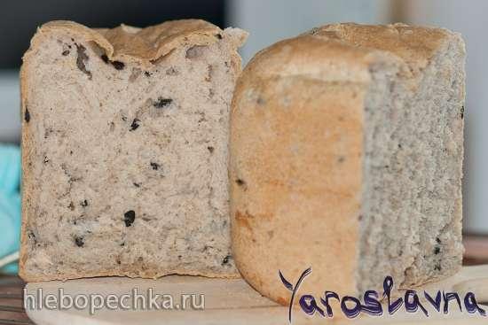 Хлеб с оливками и орегано (хлебопечка)