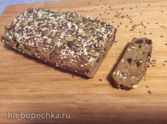 Хлеб с семечками и сухофруктами... для худеющих