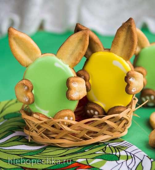 Пасхальное печенье Зайчики (Oster-Cookies Hasen)