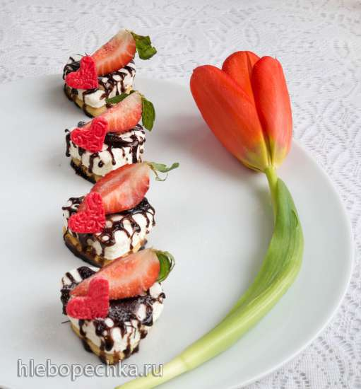 Клубничное сердце (Erdbeerherzen)