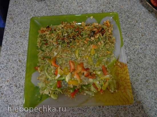 Приправа витаминная из отходов болгарского перца
