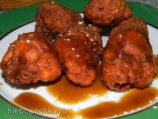 Куриные крылышки а-ля KFC с соусом Терияки