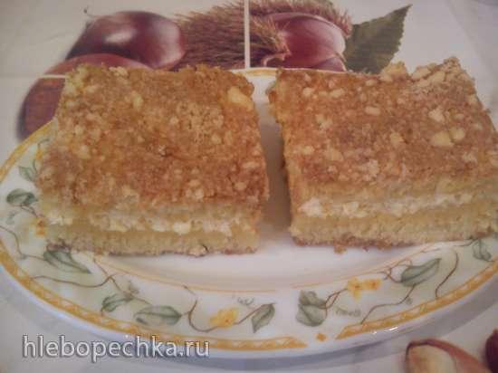 Творожный пирог (ну очень быстрый)