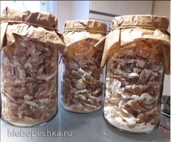 Цукаты из корочек цитрусовых