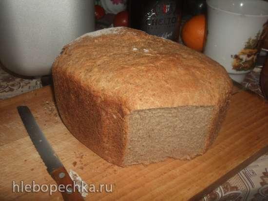 Panasonic SD-2501. Ржано-пшеничный хлеб на квасе.
