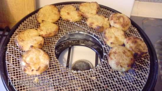 Картофельные ушки в сковороде Чудо Гриль-газ