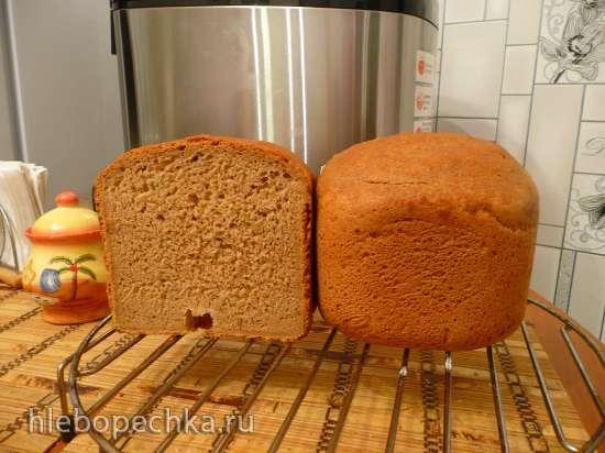 Пшенично-ржаной хлеб на темном пиве