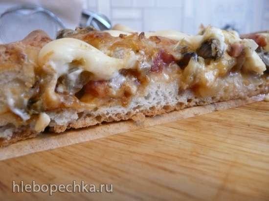 Тесто для пиццы (инструкция к хлебопечке Panasonic)