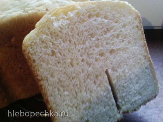 Пшеничный хлеб с манной крупой в хлебопечке