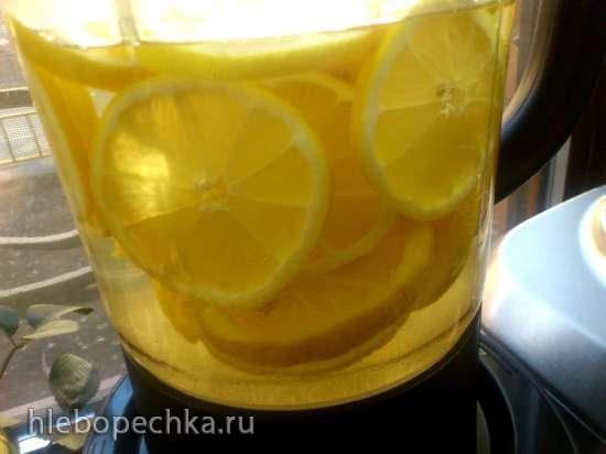 Лимонад с шафраном в мультиблендере Profi Cook