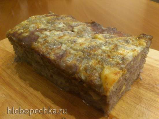 Мясной хлеб 3 в 1