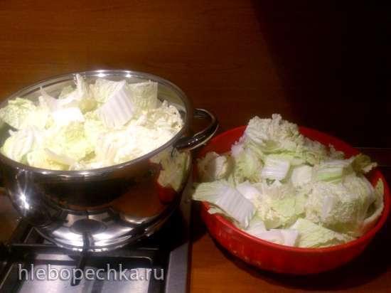 Чимча (чимчи, кимчи...), простой способ приготовления