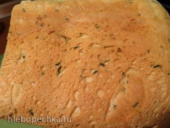 Белый хлеб со шнитт-луком