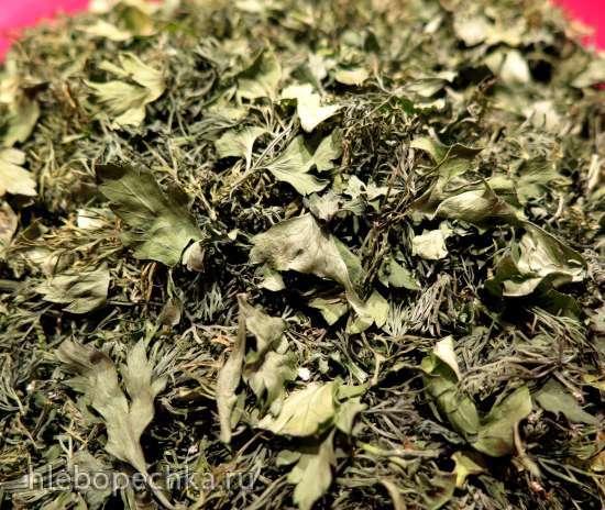 Зелень сельдерея сушеная