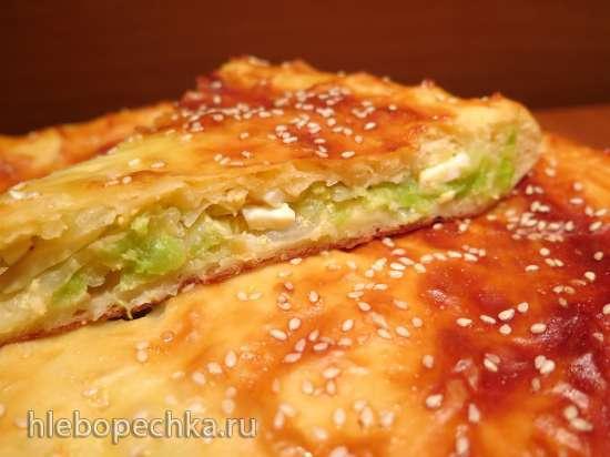Сдобные пироги с потрошками в сметане; с бланшированной капустой с яйцами и др., в пиццепечках Princess и Travola