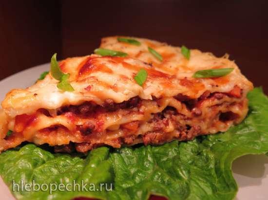 Лазанья с мясом и грибами (Multicuisine DeLonghi)