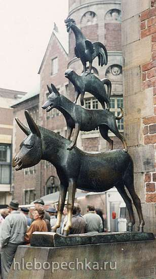 Печенье Бременские музыканты (Bremer Stadtmusikanten)