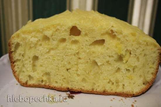 Лимонный содовый хлеб по мотивам ирландского