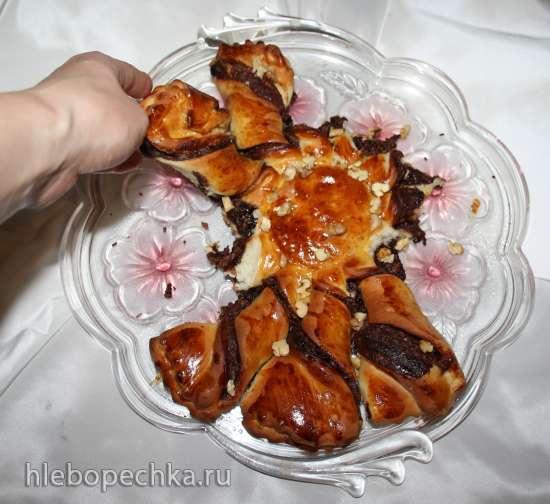Пирог Шоколадная звезда