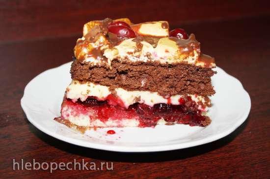 Торт Графиня вишенка