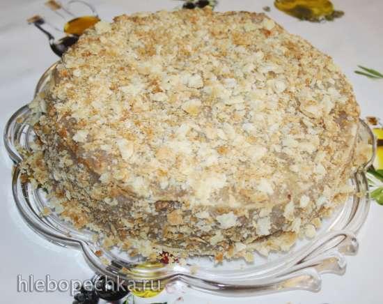 Торт Наполеон (постный)
