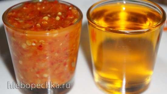 Мои любимые острые соусы из перца чили