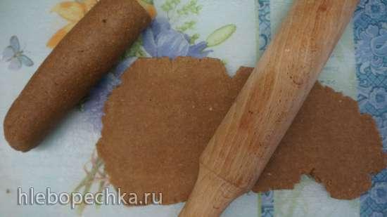 Гречневая лапша с грибным соусом