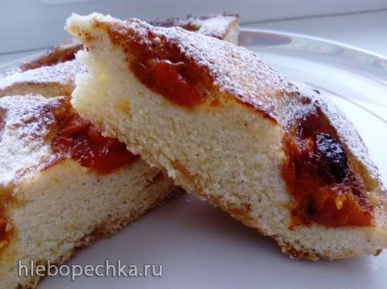 Пирог сливовый в пиццамейкере Princess 115000