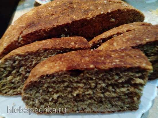 Лепёшка ржано-пшеничная  цельнозерновая на кефире