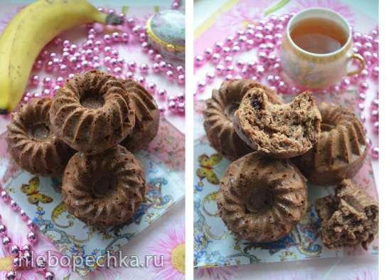 Банано-шоколадные маффины Banana Chocolate Meal-in-a-Muffin