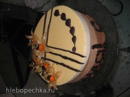 Торт «Три шоколада-2»