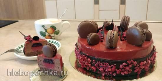 Урок 2018.05.21-06.3: Торт Ревнивый шоколад 1
