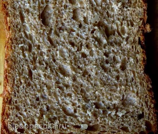 """Ржано-пшеничный хлеб """"Воздушный"""" с семечками"""