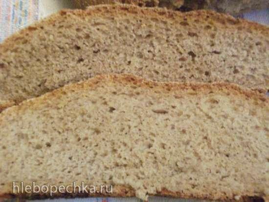 Хлеб ржано-пшеничный на двух заквасках
