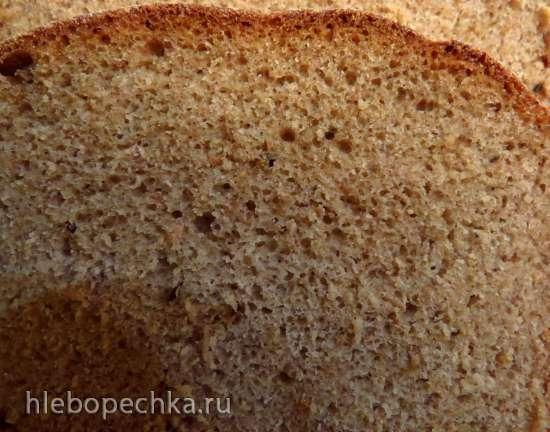 Хлеб ржано-полбяной по-монастырски