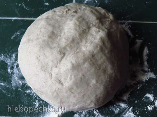 Заварной луковый хлеб с цельнозерновой мукой на жидких дрожжах «Чиполлино»