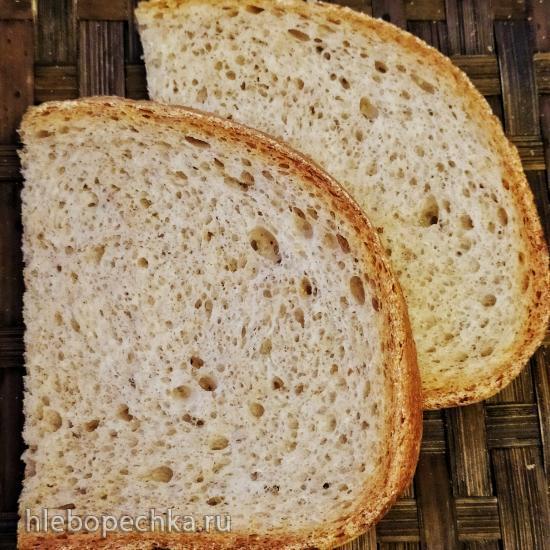 Опарный функциональный хлеб в хлебопечке
