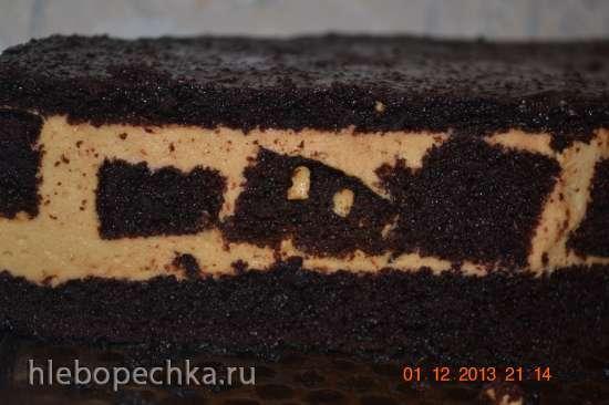 Мега шоколадный бисквит