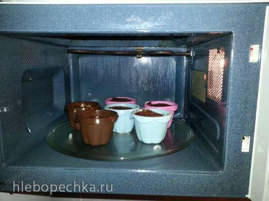 Кекс в микроволновке