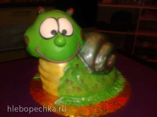 МК. Торт в виде улитки.