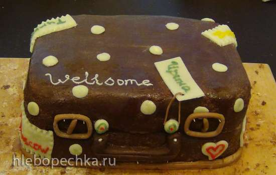 """Торт """"Королевский"""" шоколадный"""