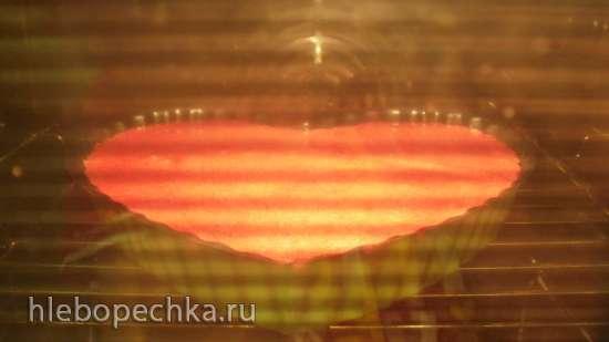 Красный бархат на свекольном пюре