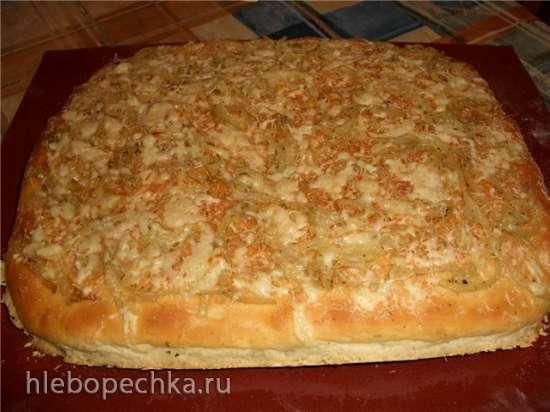 Фокачча картофельная с луком