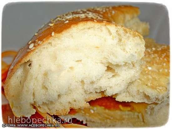 Лепешка пшеничная на простокваше (Токи-нон)