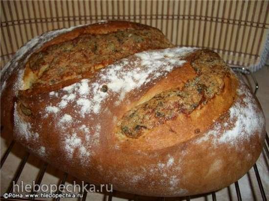Хлеб пшеничный картофельный с сыром (духовка)