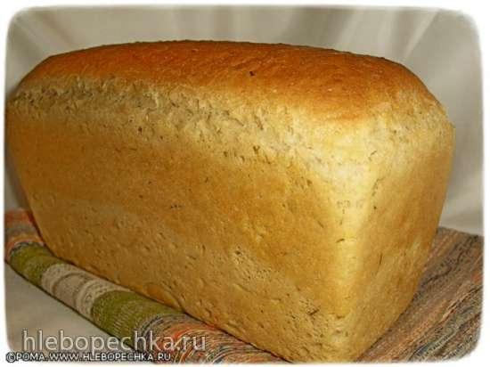 Пшеничный хлеб на опаре из старого теста