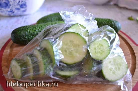 Огурцы свежие (для закладки в морозилку)