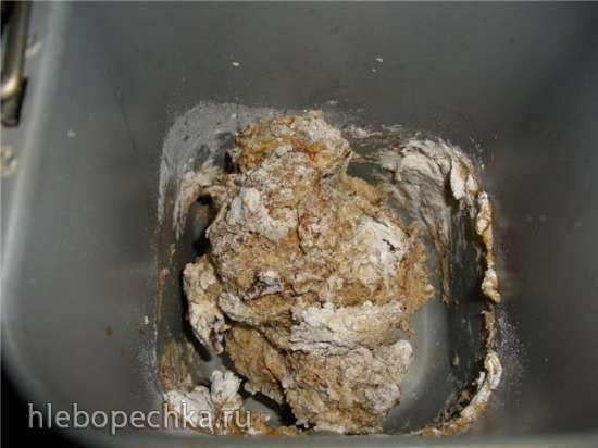 Колобок из пшенично-ржаной муки (мастер-класс)